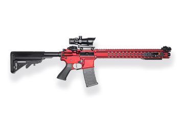 M4 / AR 15 - red
